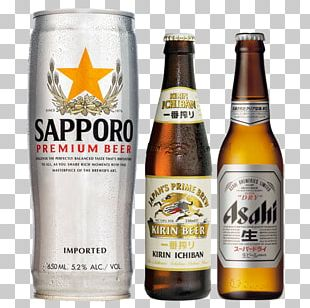 Wheat Beer Lager Sapporo Brewery PNG