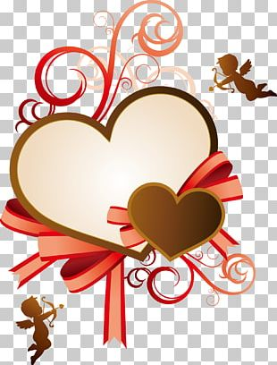 Valentines Day Heart Qixi Festival Illustration PNG