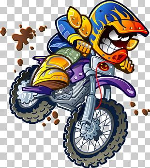 Motocross Motorcycle PNG