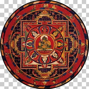 Mandala Tara Thangka Tibetan Buddhism PNG
