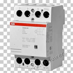 ABB ESB Instalation Contactor 4 Pole GHE3491102R0006 ABB Components System Pro M Compact ESB 63-40 GHE3691102R0003 ABB Group Electrical Switches PNG