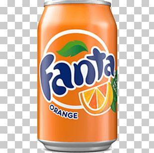 Fanta Fizzy Drinks Diet Coke Coca-Cola Juice PNG