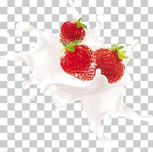 Flavored Milk Juice Strawberry Frutti Di Bosco PNG