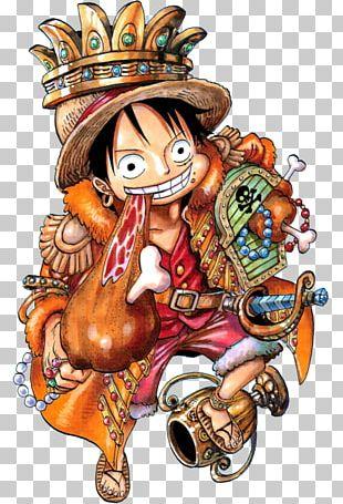 Monkey D. Luffy Nami One Piece Anime Manga PNG