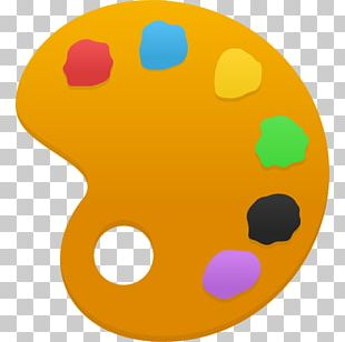 Baby Toys Oval Yellow PNG