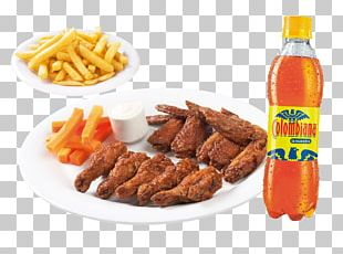 French Fries Roast Chicken Barbecue Sauce Hamburger PNG
