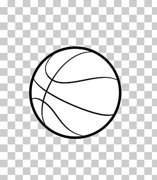 Outline Of Basketball Sport PNG