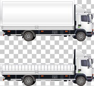 Car Van Truck Transport PNG