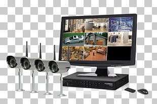 Computer Monitors Digital Video Recorders System Security PNG