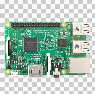 Raspberry Pi 3 64-bit Computing ARM Cortex-A53 Motherboard PNG