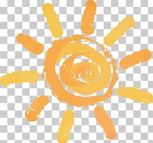 Hand-drawn Cartoon Sun PNG