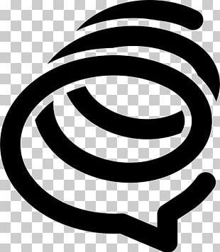 Spiral Logo Social Media PNG