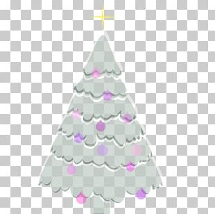 Christmas Tree Spruce Christmas Ornament Fir Pink M PNG