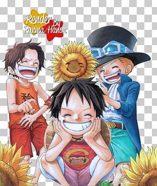 Monkey D. Luffy Roronoa Zoro Portgas D. Ace One Piece Manga PNG