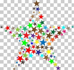 Fractal Geometry Star PNG