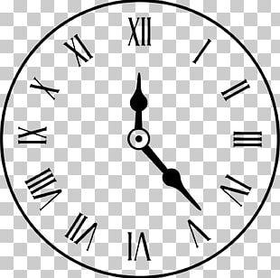 Clock Face Alarm Clock Roman Numerals PNG