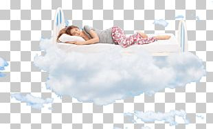 Sleep Woman Bed PNG