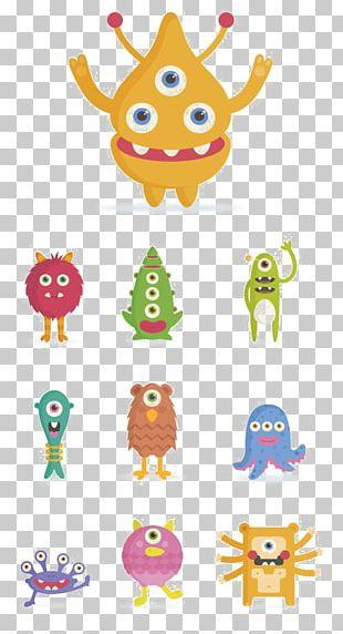 Cartoon Monster PNG