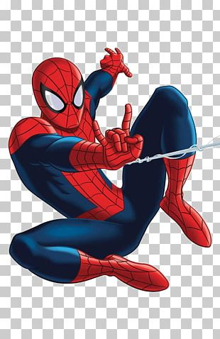 Marvel Universe Ultimate Spider-Man Iron Man Comic Book PNG