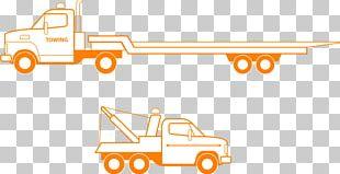 Car Tow Truck Semi-trailer Truck Flatbed Truck PNG