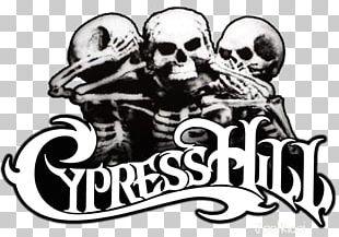 Cypress Hill IV T-shirt Skull & Bones Hip Hop Music PNG