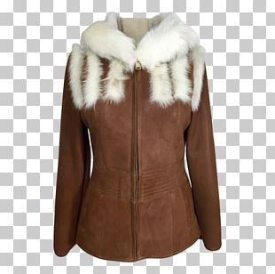 Leather Jacket Coat Fur Clothing Sheepskin PNG