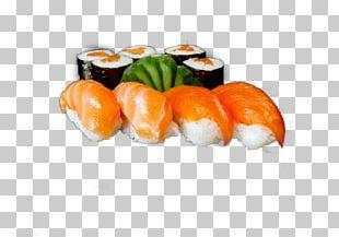 California Roll Sashimi Sushi Smoked Salmon Cucumber PNG
