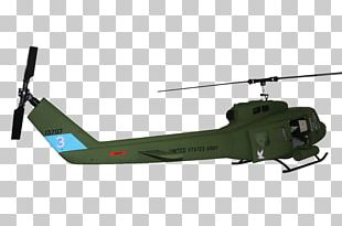 Helicopter Rotor Bell UH-1 Iroquois Radio-controlled Helicopter Military Helicopter PNG