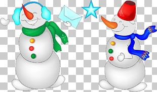 Snowman Christmas Animated Film PNG