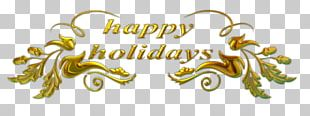 Holiday New Year Christmas PNG