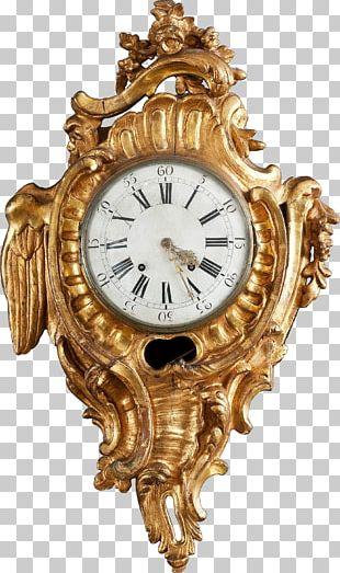 Mantel Clock Antique Furniture Bracket Clock PNG