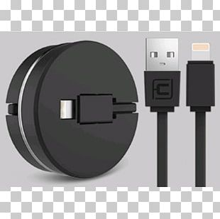 Electrical Cable Battery Charger IPhone 8 USB-C Lightning PNG