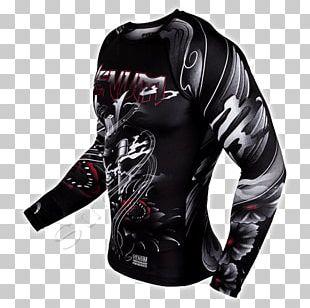 T-shirt Rash Guard Sleeve Venum Brazilian Jiu-jitsu PNG