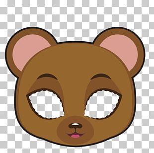 Bear Mask PNG