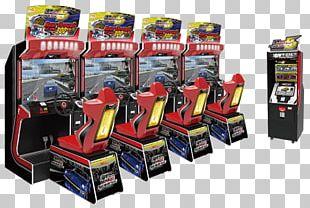 Daytona USA Wangan Midnight Maximum Tune Pac-Man Battle Royale United States Arcade Game PNG