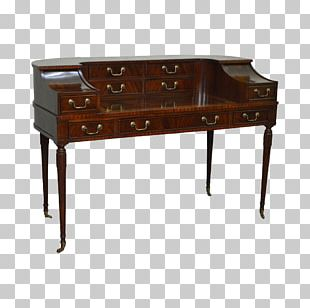 Desk Table Chest Of Drawers Hutch PNG