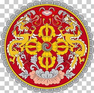 Emblem Of Bhutan Flag Of Bhutan National Symbols Of Bhutan National Emblem PNG