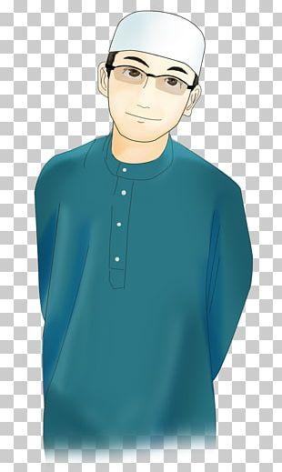 Islam Cartoon Muslim Hijab Man PNG