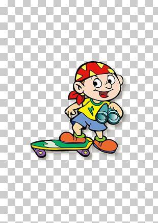 Kids Skateboard Skateboarding Sports Equipment PNG