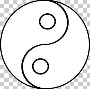 Yin And Yang Drawing Line Art PNG