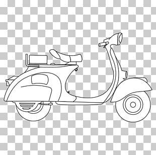 Scooter Piaggio Motor Vehicle Car Vespa PNG
