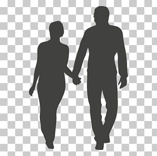 Silhouette Couple PNG