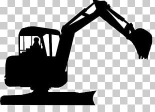 Compact Excavator Architectural Engineering Heavy Machinery Stock Photography PNG