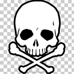 Human Skull Symbolism Drawing Tattoo Skull And Crossbones PNG