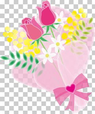 Floral Design Watercolor Painting Nosegay PNG