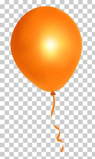 Balloon Orange PNG
