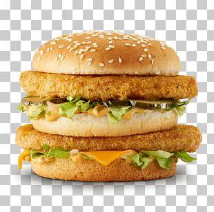 McDonald's Big Mac Chicken Sandwich Hamburger McChicken Chicken Patty PNG