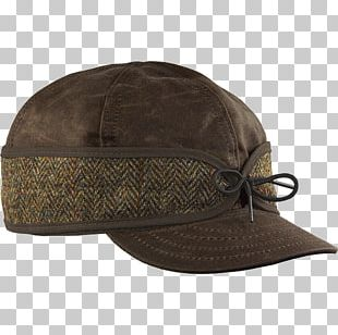 Baseball Cap Stormy Kromer Cap Waxed Cotton Harris Tweed PNG