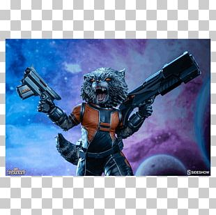 Rocket Raccoon Groot Guardians Of The Galaxy Action & Toy Figures Sideshow Collectibles PNG