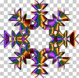 Symmetry Kaleidoscope Line Pattern PNG